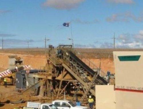 Mindarie Mineral Sands Feed Hopper
