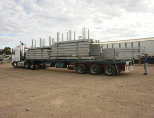 Arrium Train Maintenance Platform Steelwork
