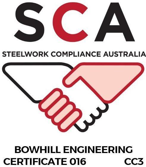 Steelwork Compliance Australia (SCA) – Construction Category 3