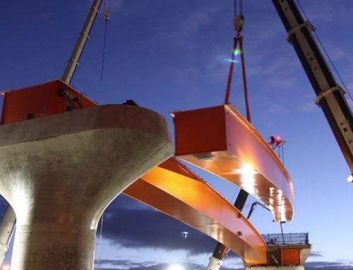 Video – Flinders Link Girder Installation